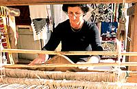 Greece _ Crete _ Plateau of Lassithi _ Weaving craft _ Agios Konstandinos