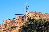 Greece _ Crete _ Mill from Spinalonga