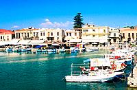 Greece _ Crete _ Rethymnon Port