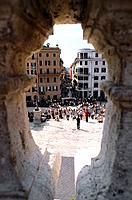 Italy _ Rome _ Spain Square _ Trinit&#224; dei Monti stairs