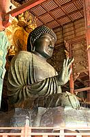 Japan _ The west of Honshu _ Nara _ Todai ji Temple _ Grand Bouddha Vairocana