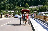 Japan _ Kyoto _ Higashiyama District _ Rickshaw