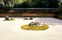 Japan _ Kyoto _ Ryoan ji Temple _ The Dry Garden