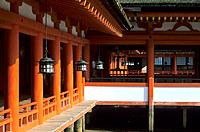 Japan _ The west of Honshu _ Hiroshima _ Miyajima Island _ Itsukushima Sanctuary