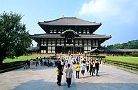 Japan _ The west of Honshu _ Nara _ Todai ji Temple