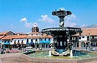 Peru _ Cusco _ Plaza de Armas