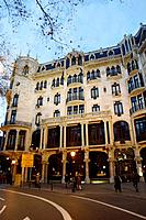 Barcelona, Hotel Casa Fuster by Lluis Domenech i Montaner