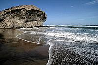 Playa de Monsul. Parque Natural de Cabo de Gata_Nijar. Almería. Spain