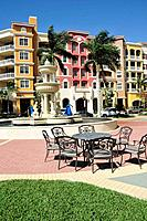 Naples Florida Bayfront Shopping and Residential District