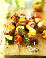 Beef skewers