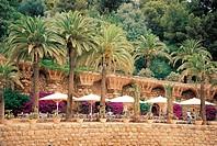 Gaudi,Parque Guell, Barcelona,Spain