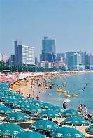 Haeundae Beach,Busan,Korea