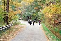 Mt. Jirisan National Park,Gyeongnam,Korea