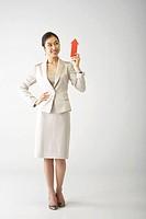 Business Woman in Suit,Korea