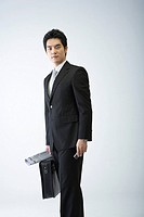 Korean Businessman with Briefcase