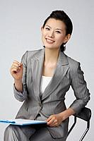 Young Korean Business Woman