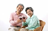 Korean Senior Couple