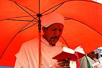 Israel Jerusalem A Jewish Ethiopian man prays at the annual Sigd festival November 2004