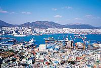 Busan Harbor,Busan,Korea