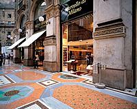 Galleria Vittorio Emanuele II,Milan,Italy