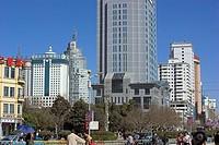 Asia, China, Yunnan, Kunming, city view