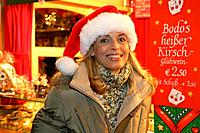 woman, Christmas_market,