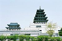 The National Folk Museum Of Korea,Gyeongbokgung Palace,Jongno_gu,Seoul,Korea