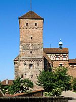 Germany, Bavaria, Nürnberg, Kaiserburg