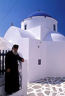 Panagia Church, Priest, Sikinos, Cyclades, Greece