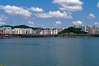 Seongdong_gu,Hangang River,Seoul,Korea