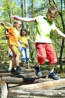 Children, climbs, activity, movement,
