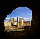 Ruins. Caliph Castle. Gormaz (Soria) Spain