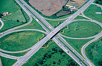 Highway cloverleaf