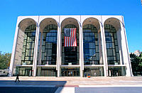 Lincoln Center. New York City. USA