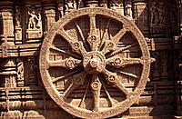 Konark Sun temple near Bhubaneswar. Orissa, India