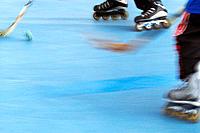 In-line hockey