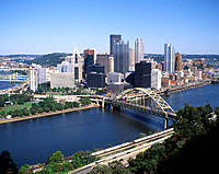 Pittsburgh. Pennsylvania. USA