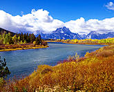 Ox Bow Bend. Grand Teton National Park. Wyoming. USA
