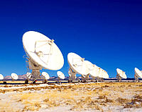 Very Large Array. New Mexico. USA