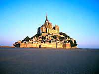 Mont Saint-Michel. Normandy. France