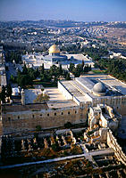 Overview on the old city. Jerusalem, Israel