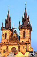 Tyn Church. Prague. Czech Republic