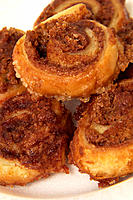 Cinnamon roll pastries