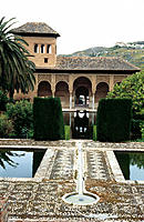 Alhambra. Granada. Spain