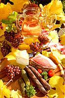 Wine, hams, Tyrol, autumn, Törggelen, quiet,