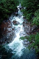 Switzerland, Tessin, Valle Verzasca, Ponte di Corippo, river Verzasca