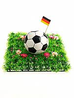 Soccer Ball with German Flag (thumbnail)