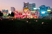 Seoul Plaza,City Hall,Jung_gu,Seoul,Korea