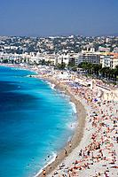 France, Europe, town, Nice, Cote d´Azur, French Riviera, Southern France, city, July 2007, Europe, Mediterranean sea,