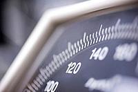 Dial of Blood Pressure Gauge